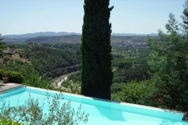 Ferienhaus mit privat Pool in Joyeuse - immagine 1