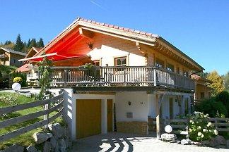 Domek letniskowy Holzblockhaus im Skigebiet