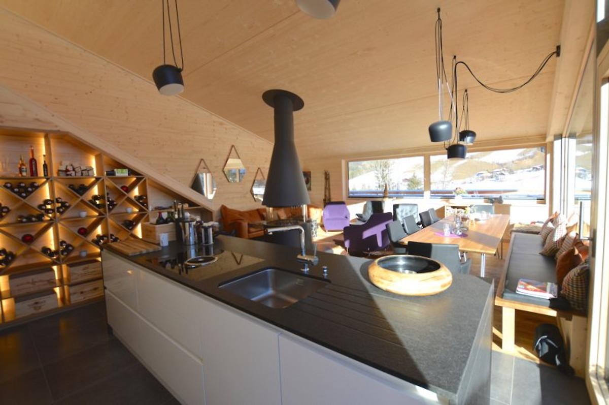 luxus chalet saphire im skigebiet - ferienhaus in annaberg mieten - Luxus Chalet 6 Schlafzimmer