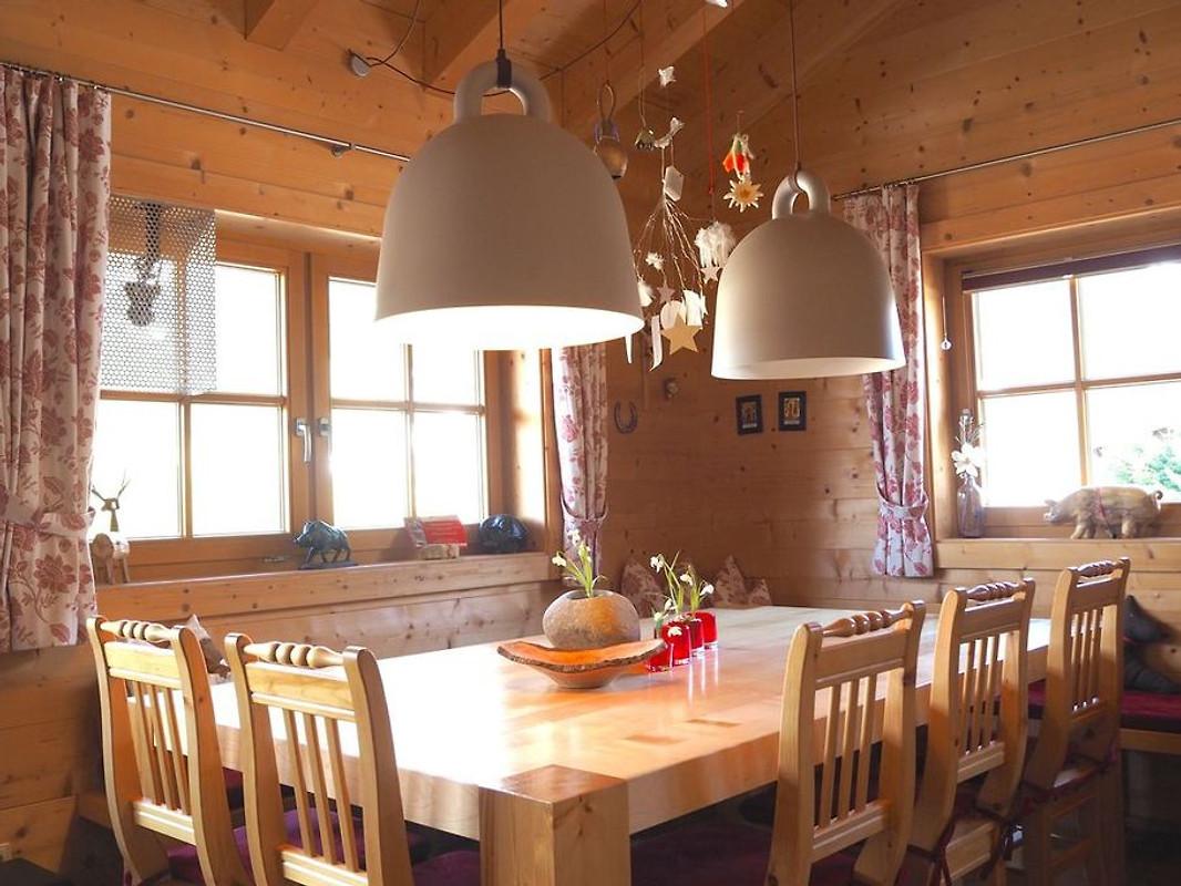 Holzblockhaus im Skigebiet - Ferienhaus in Annaberg mieten