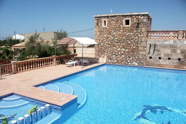 Mallorca-Finca  El Huerto in Es Llombards - Bild 1