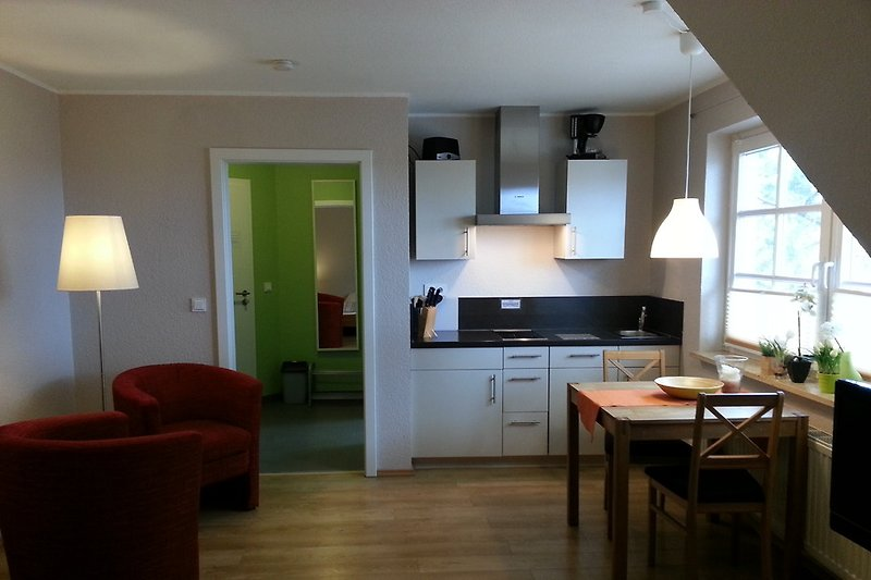 Appartement mit Wohnschlafzimmer