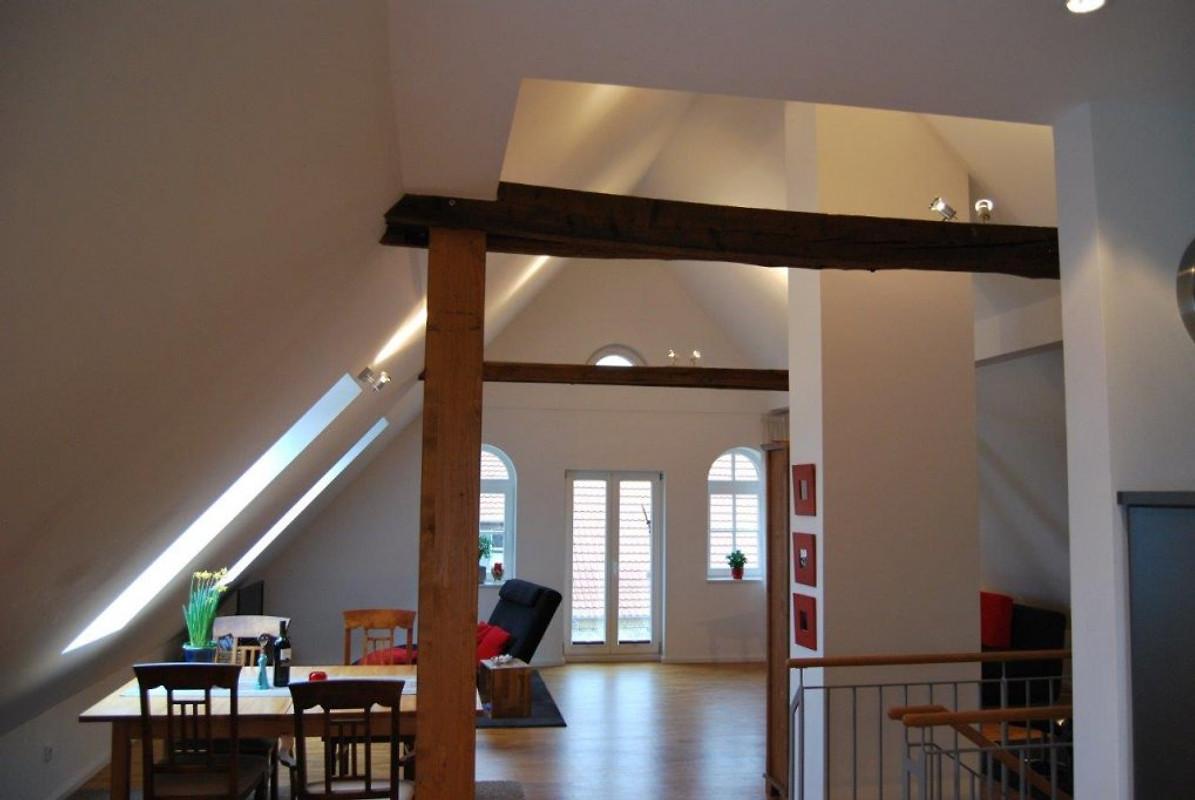 altes speicherhaus ferienhaus in m nster mieten. Black Bedroom Furniture Sets. Home Design Ideas