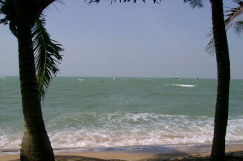 Meer und Strand nur 5 Fussminuten