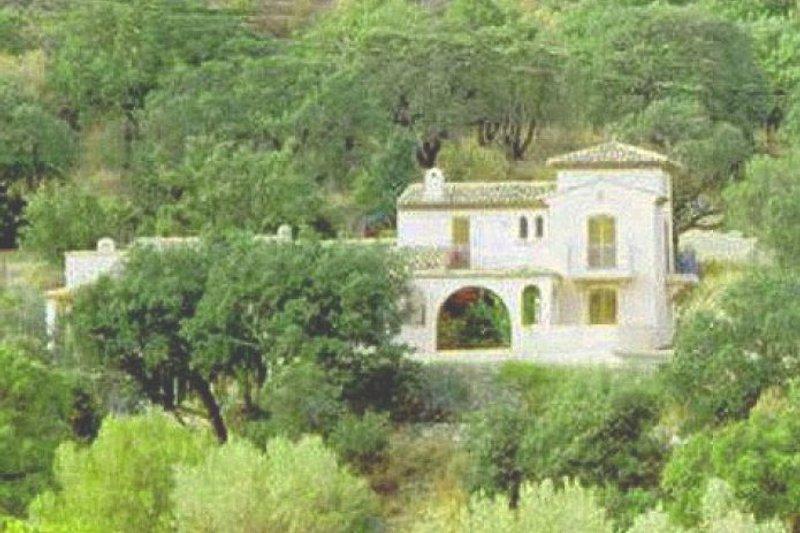 das Haus mittten in der Natur