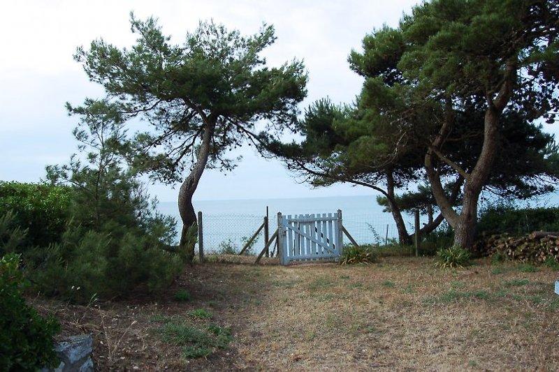 Privatweg zum Strand