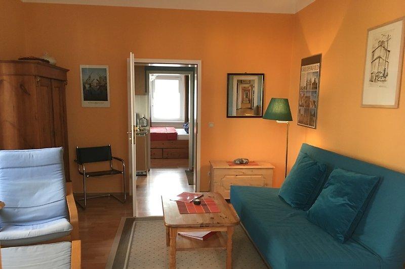 Wohnzimmer mit W-LAN