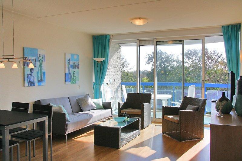 Appartement 329 Wohnzimmer