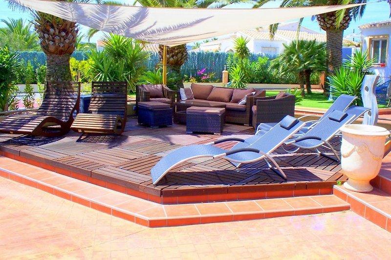 Relax-Terrasse Villa Oasis
