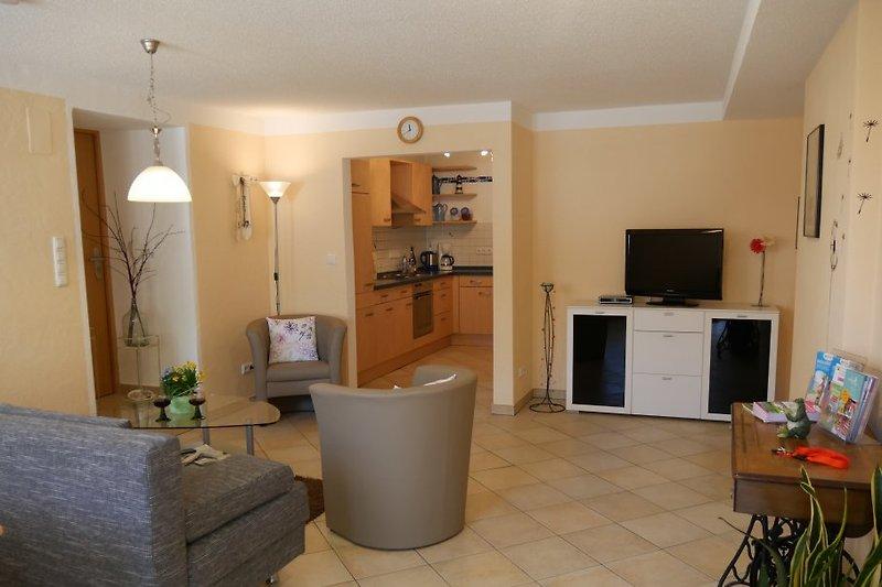 Wohn- Essbereich/Küche Wohnung 1