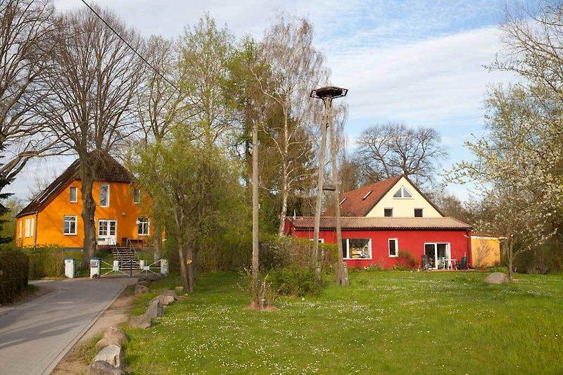 Finkenwerder Hof - idyllisch gelegen