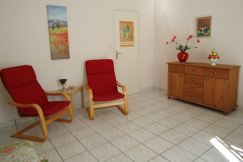 Sitzecke im Wohnzimer