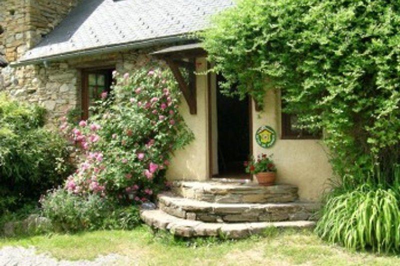 Eingang des Hauses