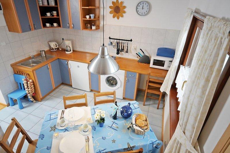Ferienhaus Plejady : Küche