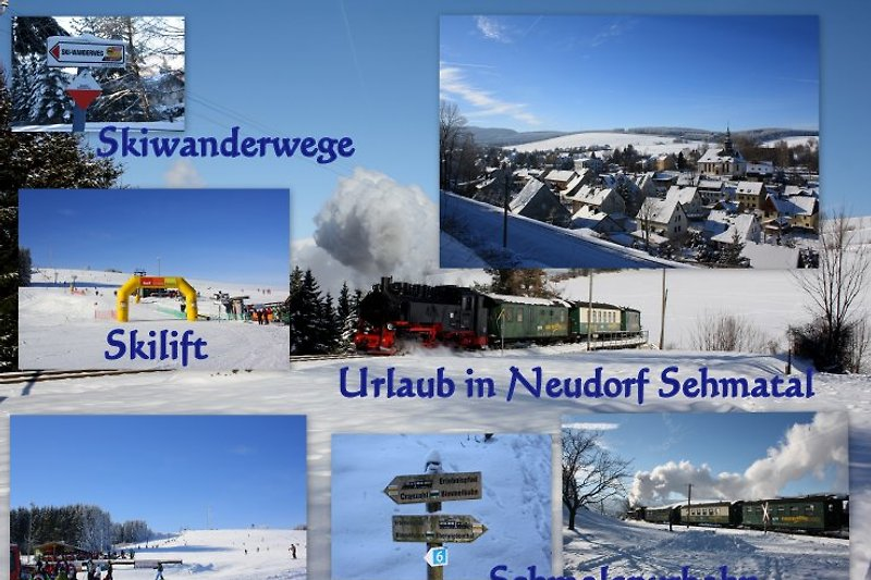 Neudorf im Winter