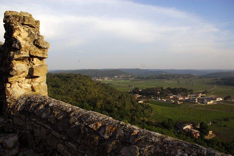 Blick auf das Cèzetal