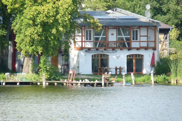 Boathouse on the lake, near Berlin  in Zernsdorf - picture 1