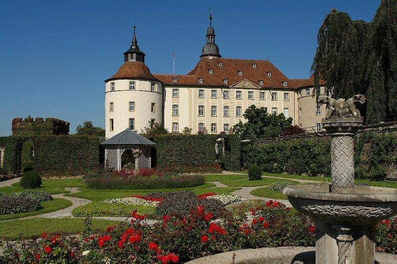 Traumhaftes Schloss Langenburg