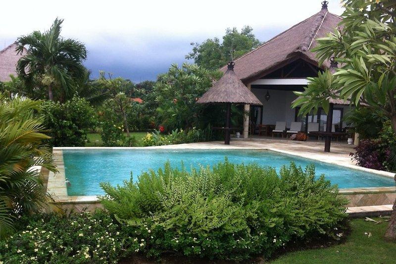 Villa und Schwimbad