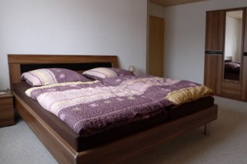 eines der Schlafzimmer