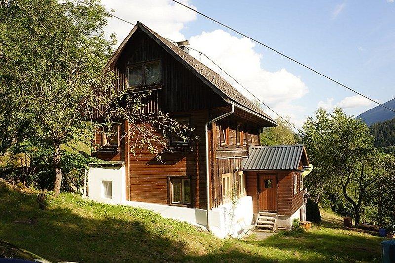 The small Wood-Villa in the Mountains Naturpark Sölk