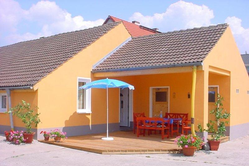 Sonnenterrasse Ferienhaus