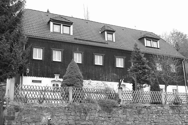 Erbaut 1813 - das älteste Haus am Platz